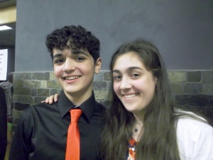 Dallin and his sister Mara after the graduation ceremny - my two pride and joys.  Mara is in her last year of high school and is an outstanding scholar and musician too.