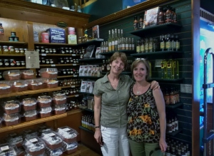 After a delcious lunch at Apple Annies, friend and naturopath Shawna Clark, N.D. took me on a tour of Mariposa Market in Orillia Ontario.