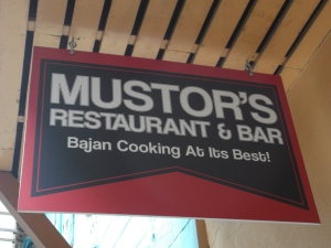 Mustor's on McGregor street is a popular eatery with Bajans and tourists alike.
