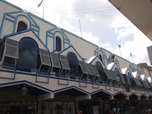 Cave Shepherd Mall on Broad Street seemed to be offering bargains galore in downtown Bridgetown.