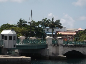It's called Bridgetown for good reason!