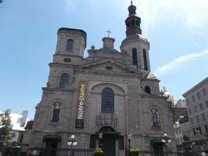 The Notre Dame de Quebec Cathedral/Basilica is a sight/site to behold and is a testament to the strong longstanding Catholic religious practice in Quebec.foundation