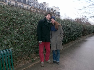 My French friends, Gildas and Carole took time from their busy schedules to take my on a day-long mystery tour of Paris a week before their wedding!