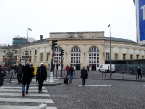 The RER train station (Denfert Rochereau)where I first surfaced in the City of Light!