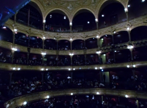 There are 2,500 seats in the Theatre Chatelet, more recently called Theatre Musicale de la paris.