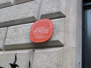 I did not get to see the Gustav Moreau museum.  It's on my list for next time!
