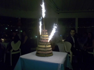 What a wedding cake!