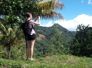 Jenny captures some of Dominica's verdant splendour during a walk to Cochrane from Springfield.