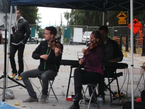 At the Binder Twine Festival, these musicians played some sweet down-home music.