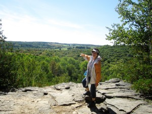 The Nottawasaga Bluffs Conservation Area on the Niagara Escarpment is a mere half hour drive west of Barrie.