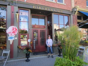 I can't wait to return to the Affairs Bakery and Cafe in Creemore Ontario. Photo taken by Edwin.